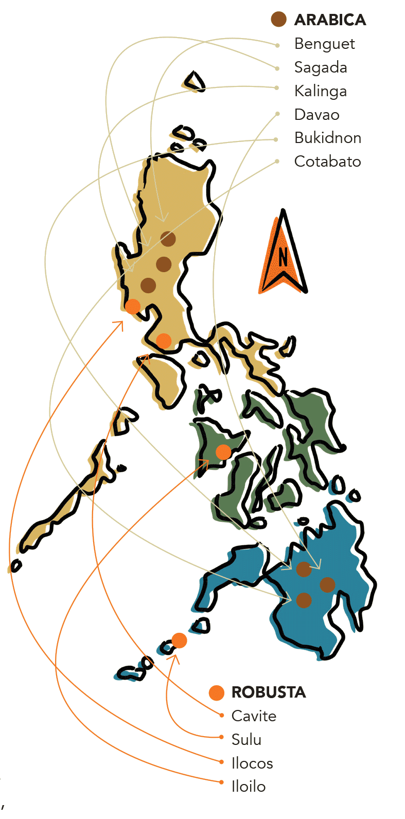 Philippine Coffee - coffee in the philippines