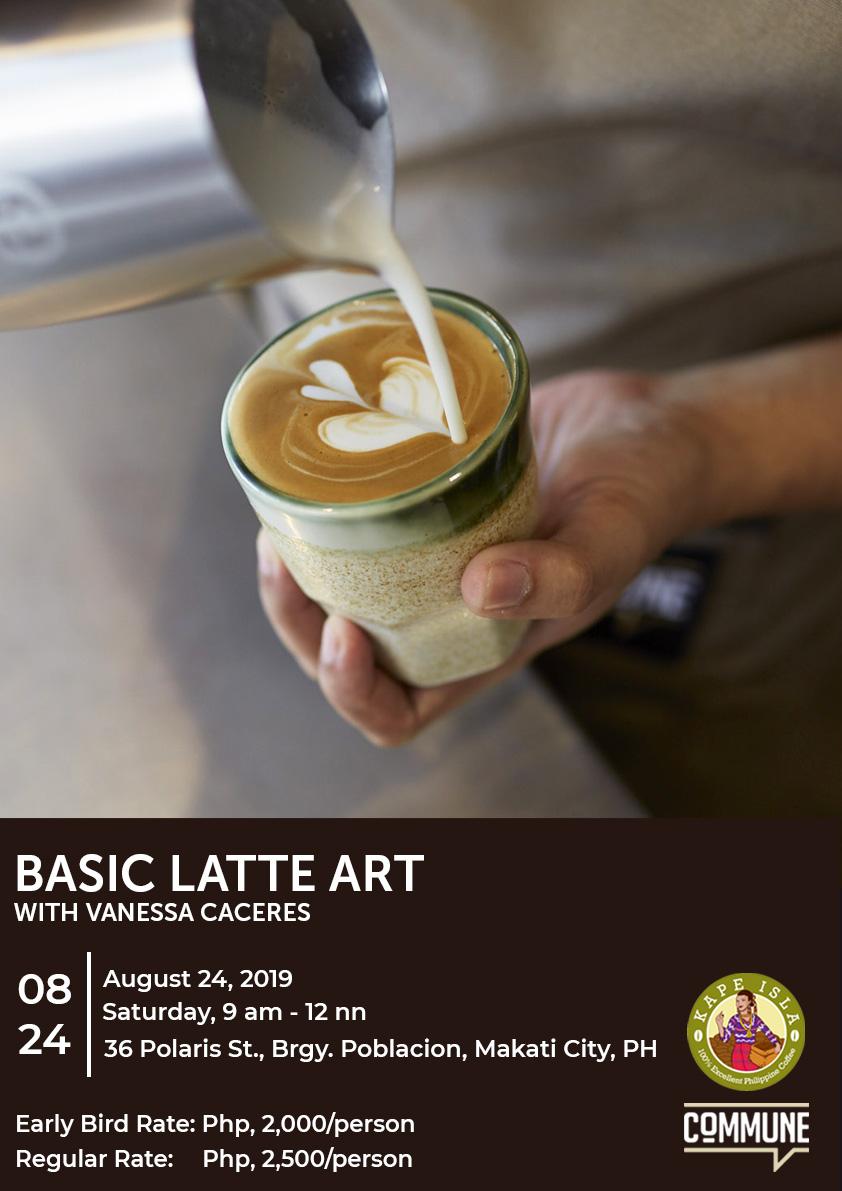 Coffee University: Basic Latte Art