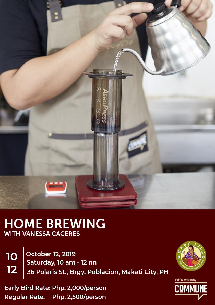 Coffee University: Homebrewing